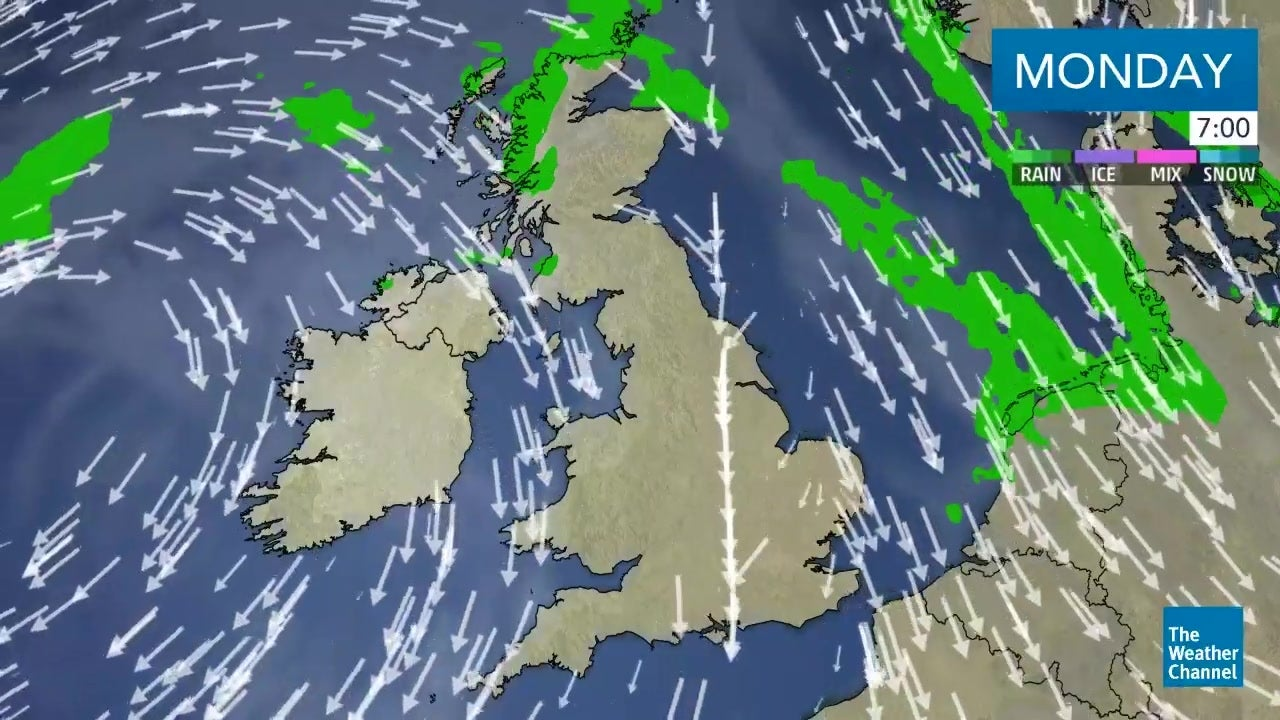 Latest UK weather forecast: September 24