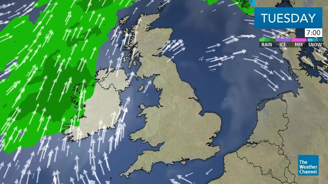 Latest UK weather forecast: September 25