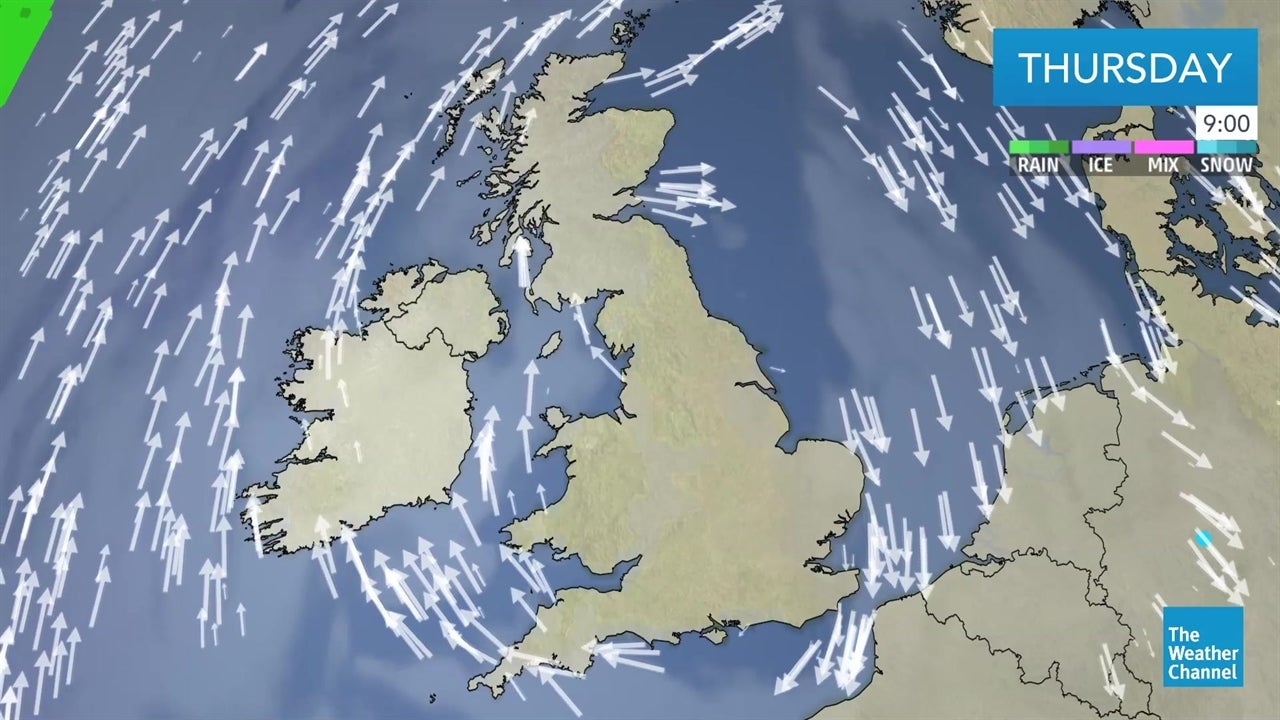 watch  latest uk weather forecast from january 3