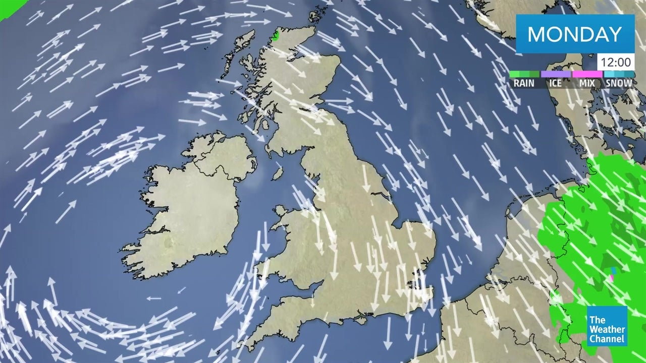 WATCH: Today's UK weather forecast - March 25