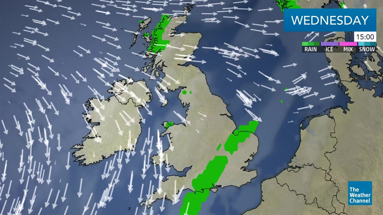 WATCH: Latest forecast for UK and Ireland - October 17