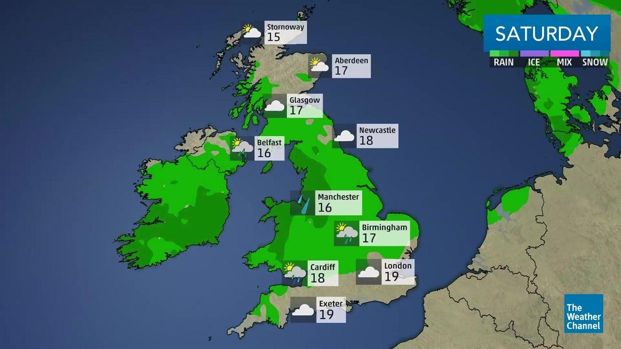 Latest UK weather forecast: September 8-9