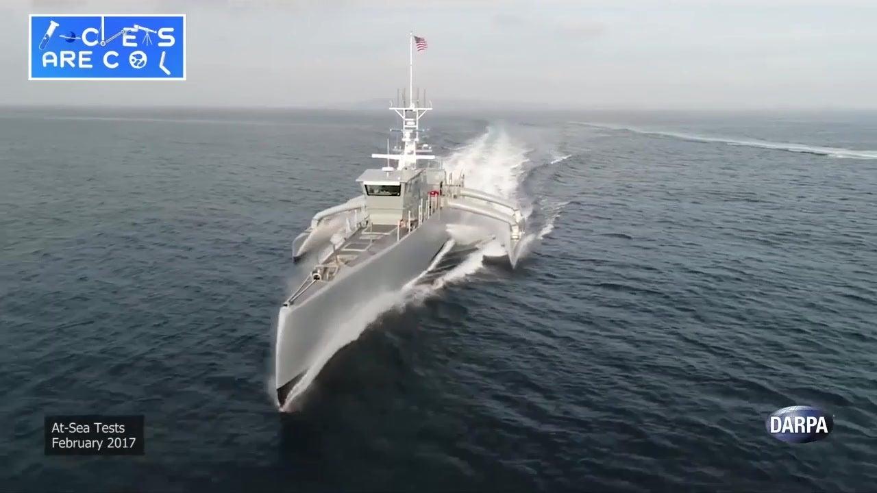 U.S. Navy's Latest Ship is Autonomous   The Weather Channel