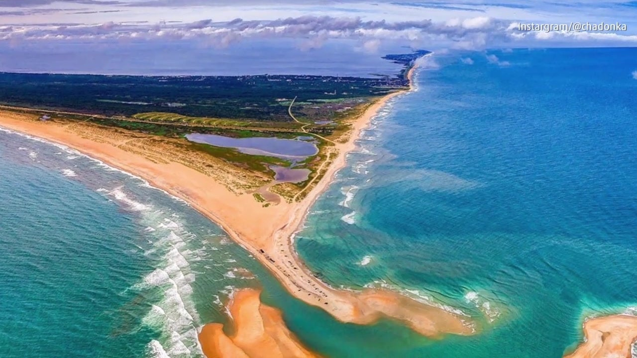 Se forma isla en North Carolina