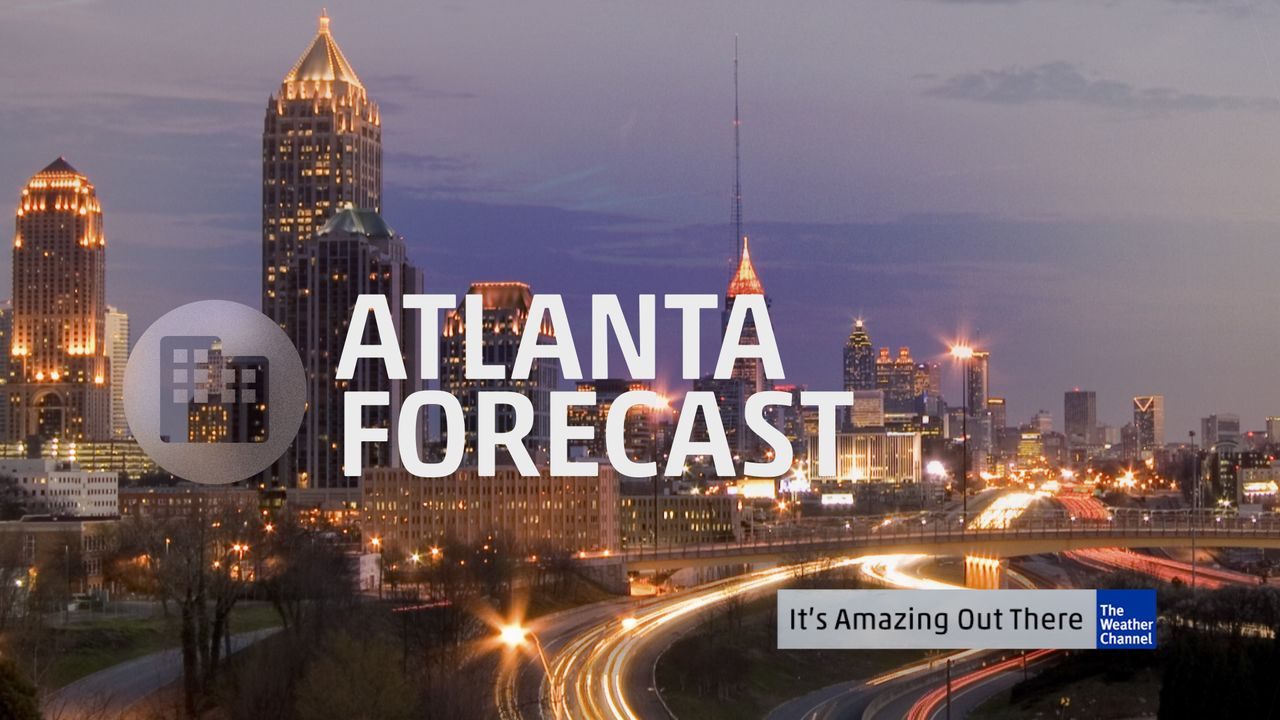 atlanta u0026 39 s 60 second forecast