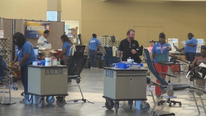 Blood donations desperately needed across the country