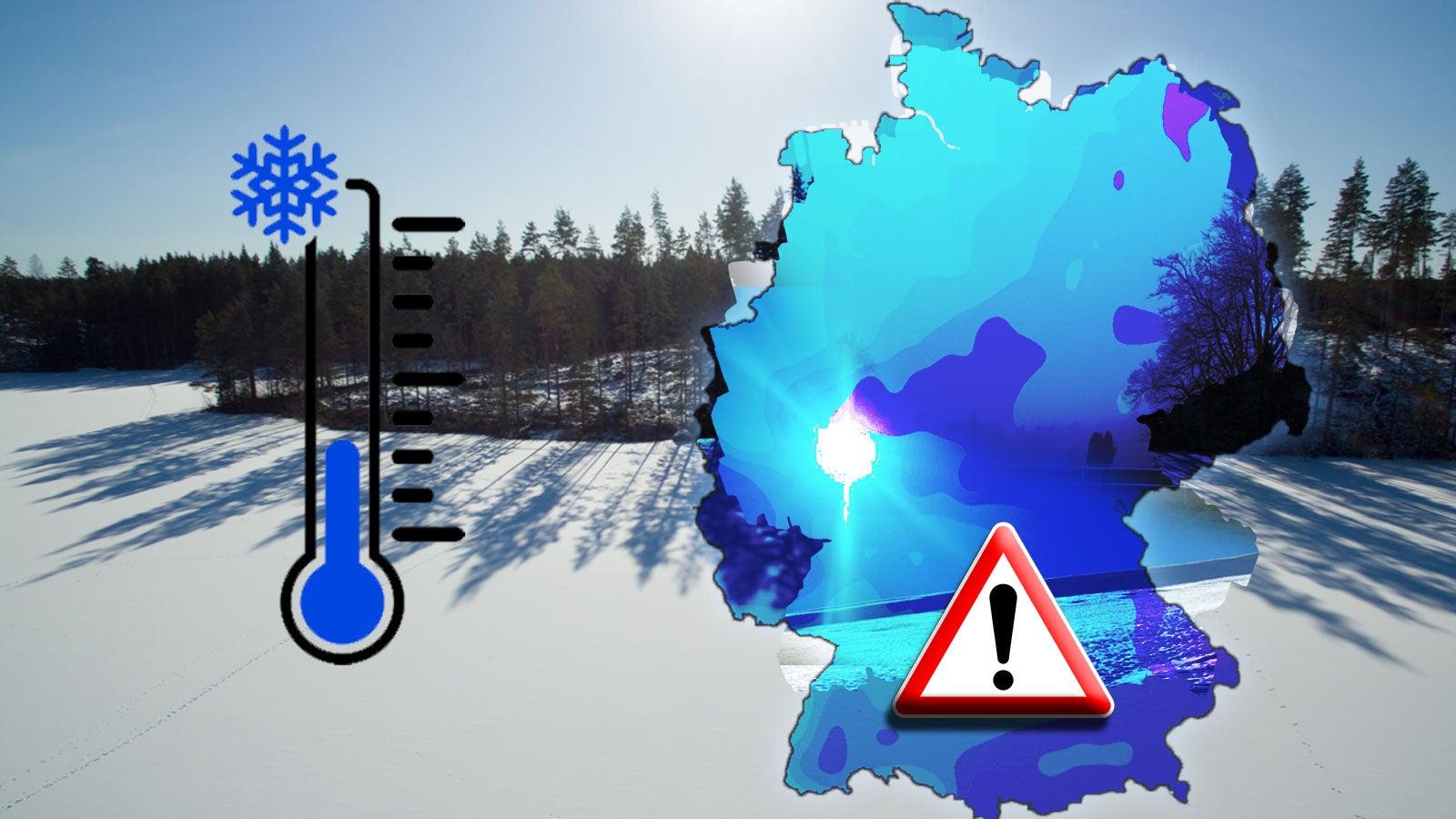 Deutschland wird zur Eiskammer: Auf uns rollt die größte Kältewelle des Winters zu