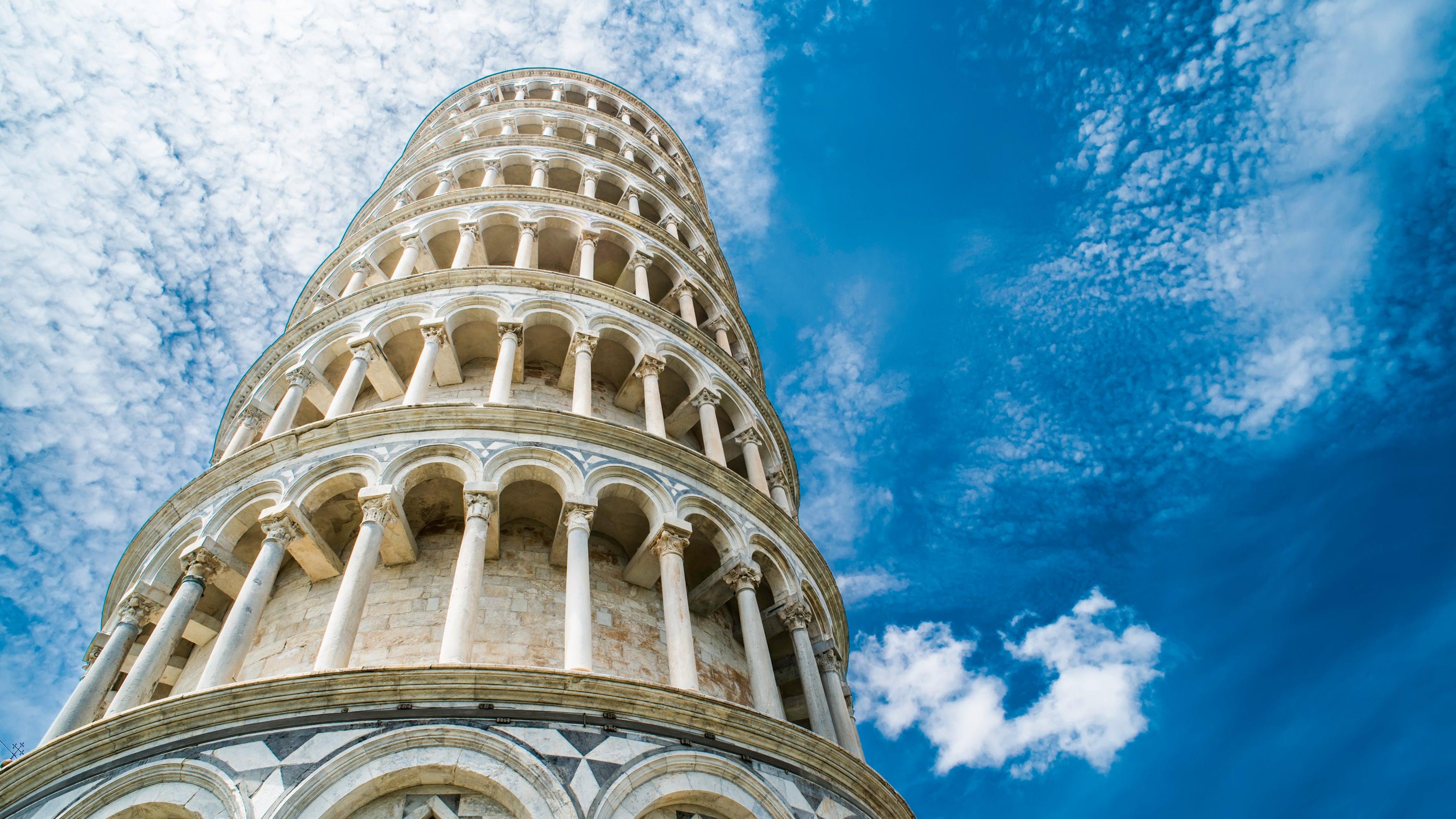 Stürzt nicht ein: Forscher lüften das Geheimnis des Turms von Pisa