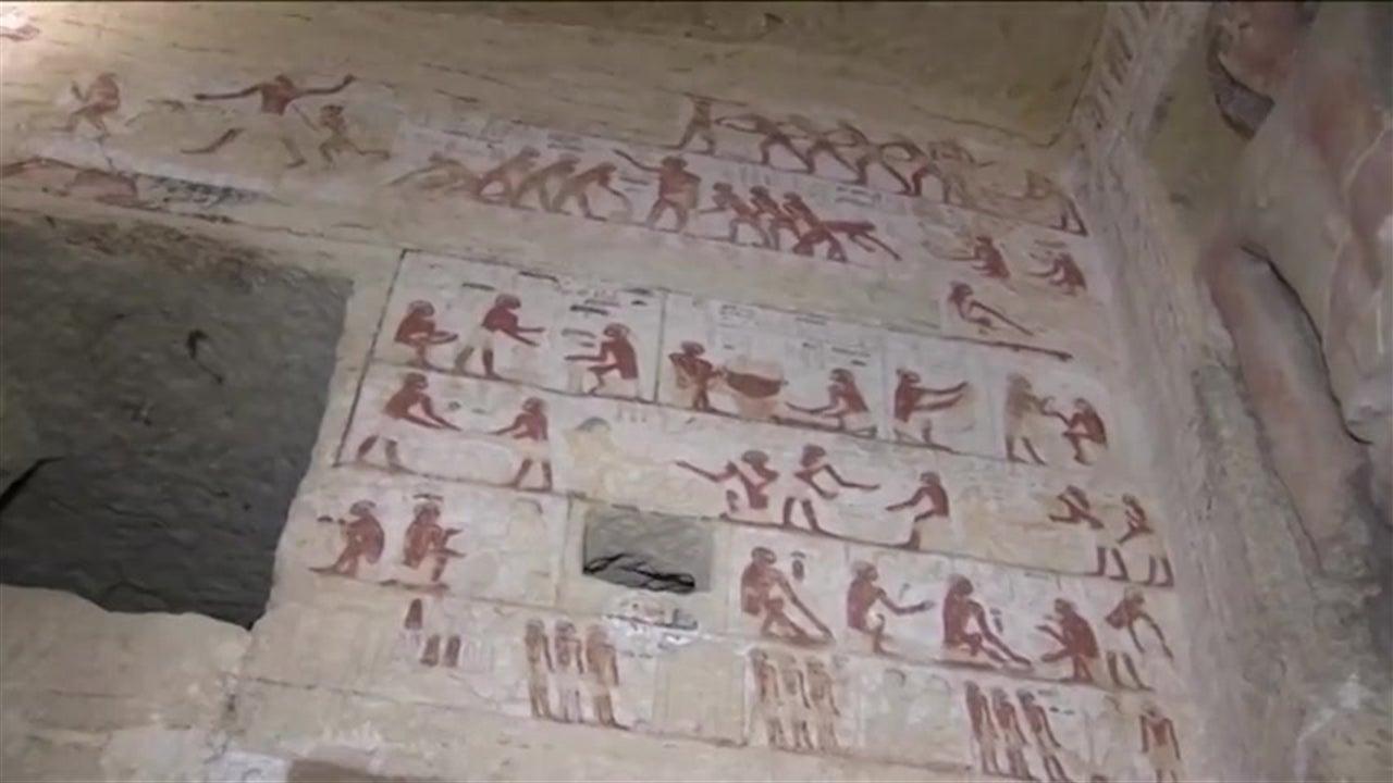 Descoberto túmulo com 4.400 anos