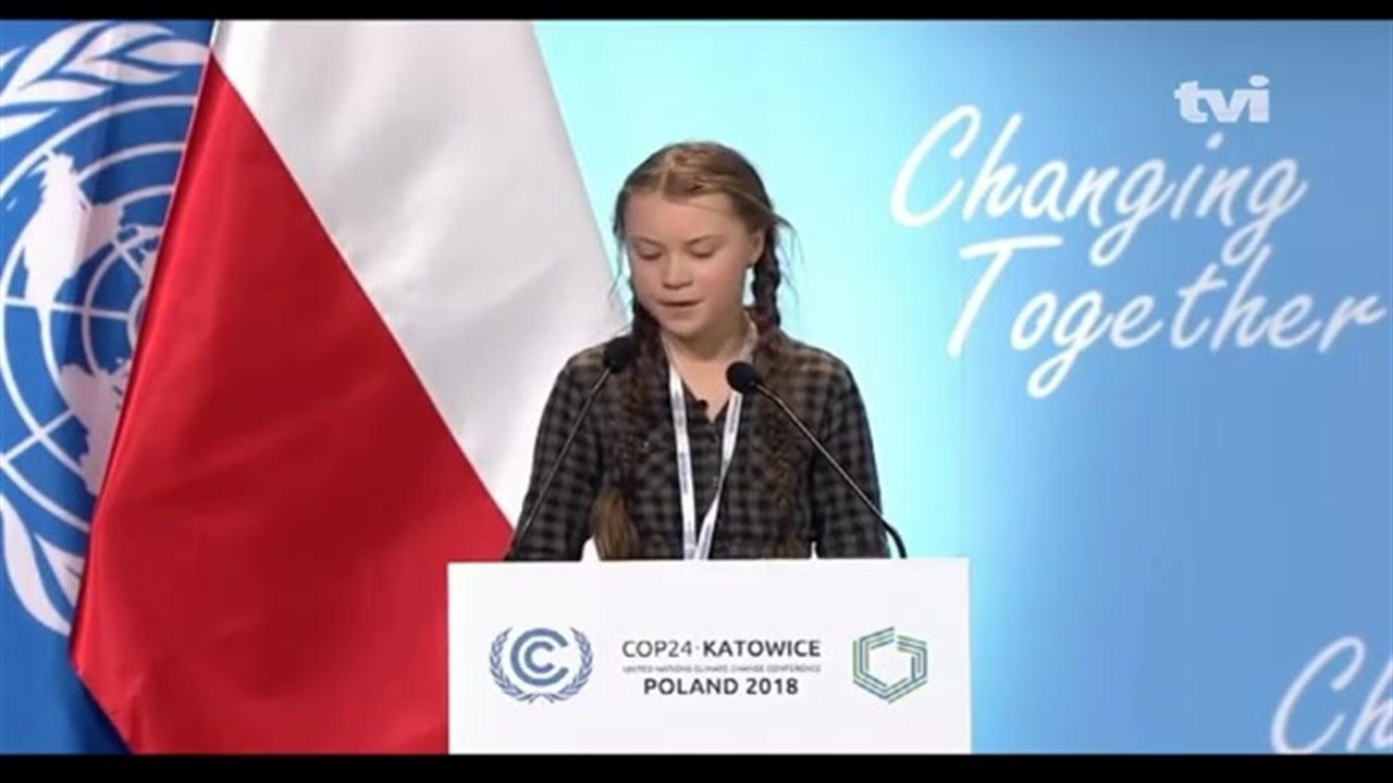 Clima: jovem acusa líderes mundiais de imaturidade