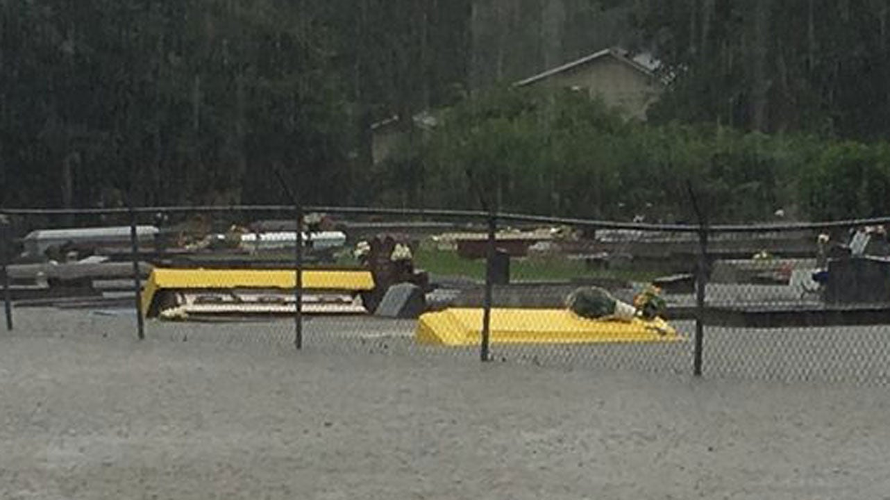 caskets floating through louisiana floodwaters the weather channel