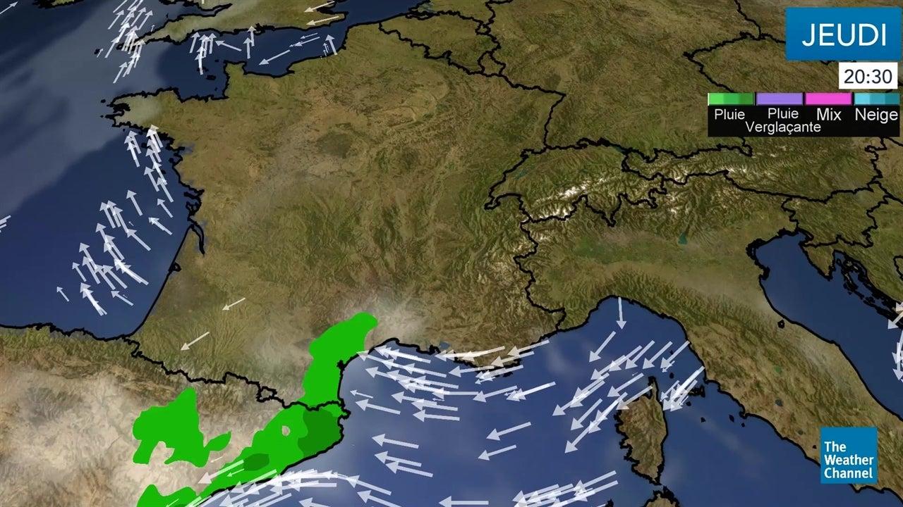 La météo du jeudi 15 novembre