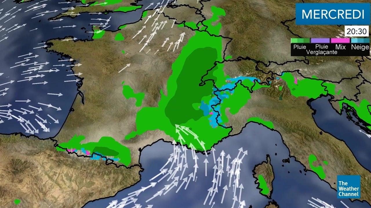 La météo du mercredi 7 novembre