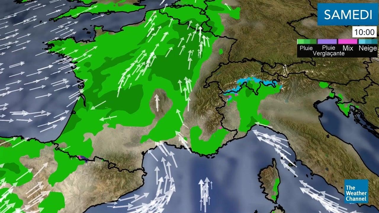 La météo du samedi 10 novembre et du dimanche 11 novembre