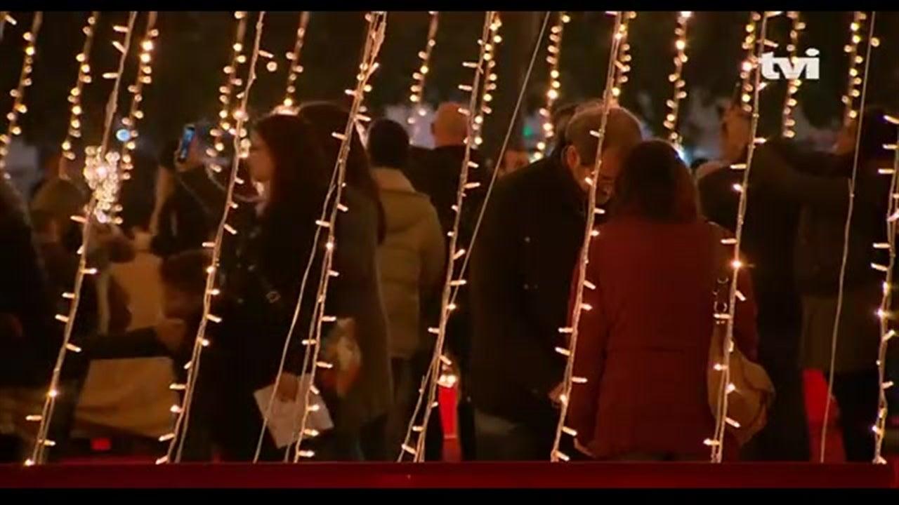 Veja as iluminações de Natal no Porto