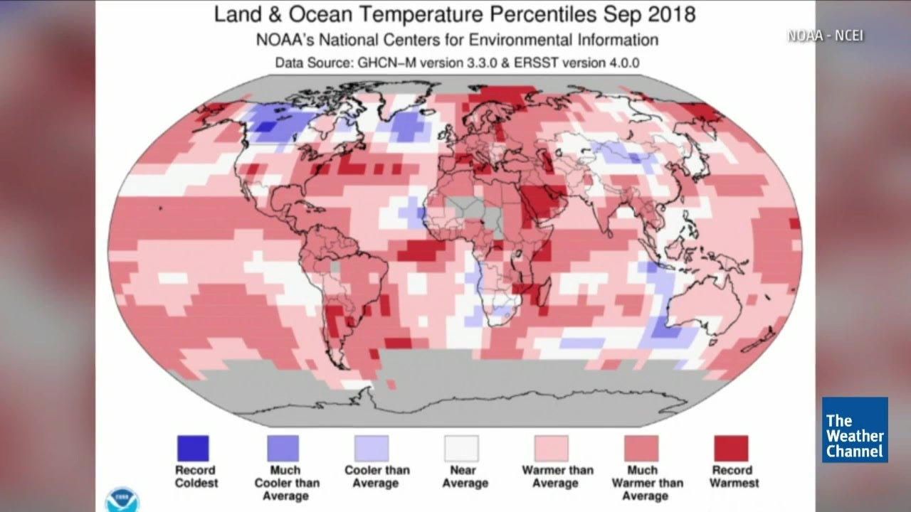 Earth on Pace for Fourth-Warmest Year