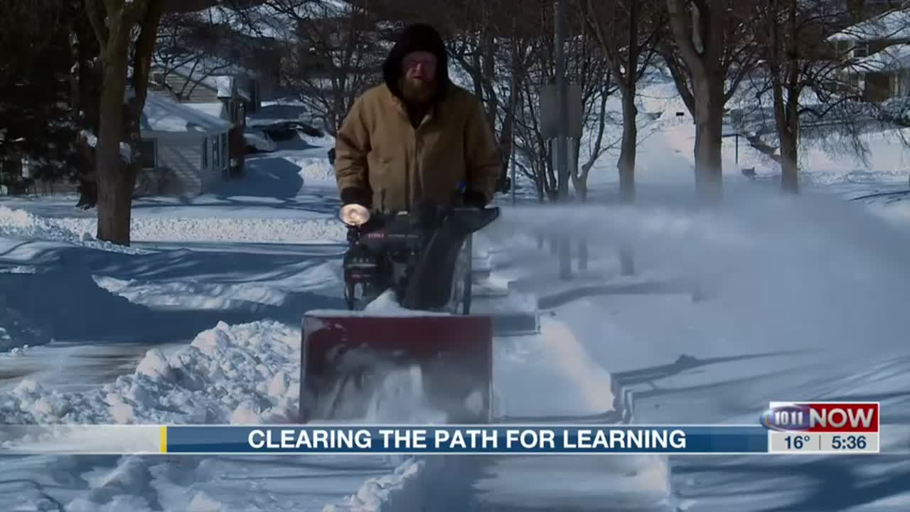 LPS brings many resources to clear snow