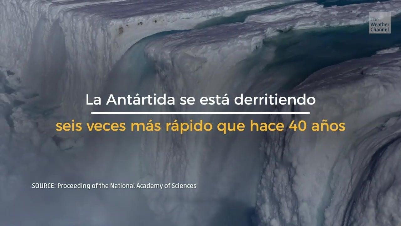 La pérdida de hielo en la Antártida se acelera