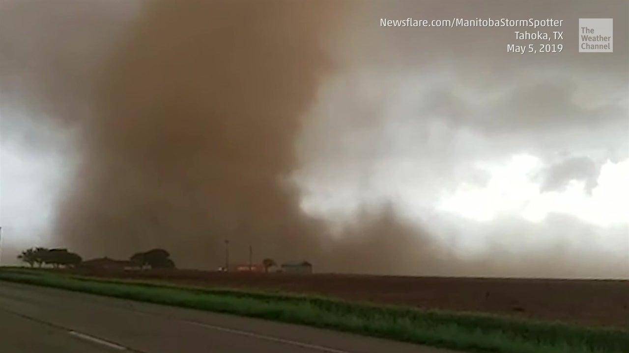Este es el sueño de todos los cazadores de tornados