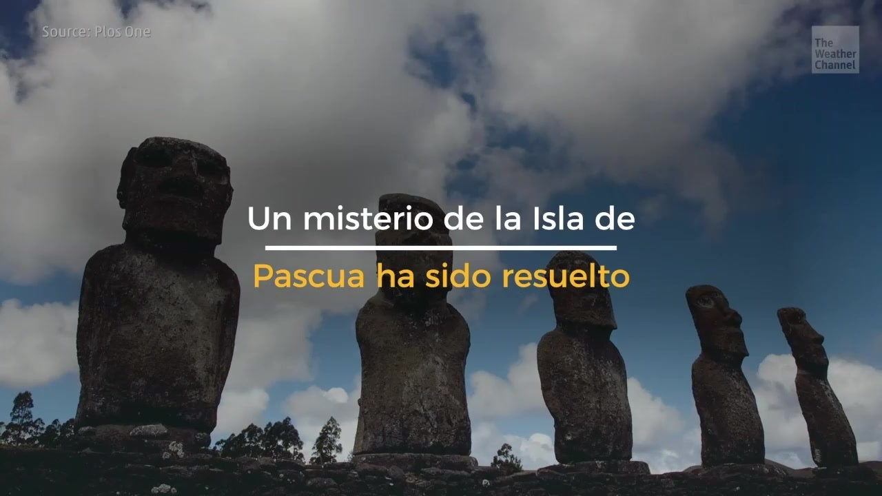 Misterio sobre la Isla de Pascua resuelto