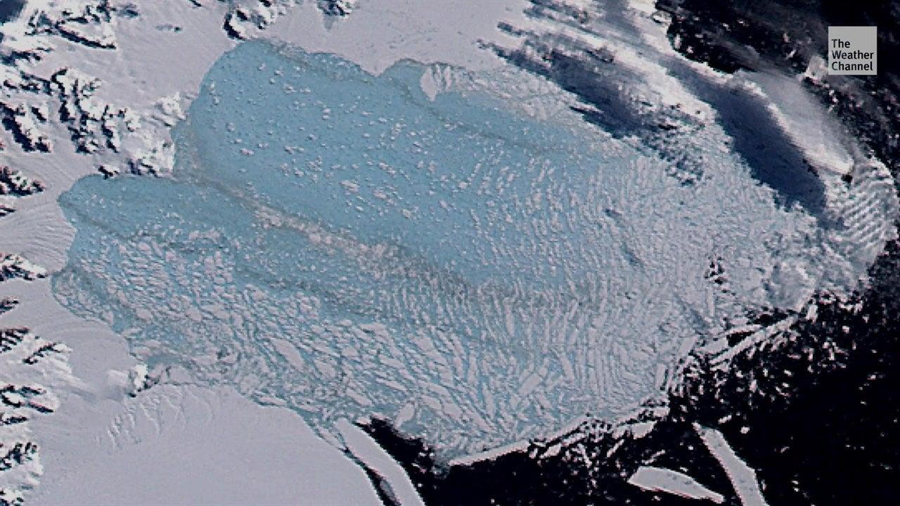 Problemas para el hielo en Antártida