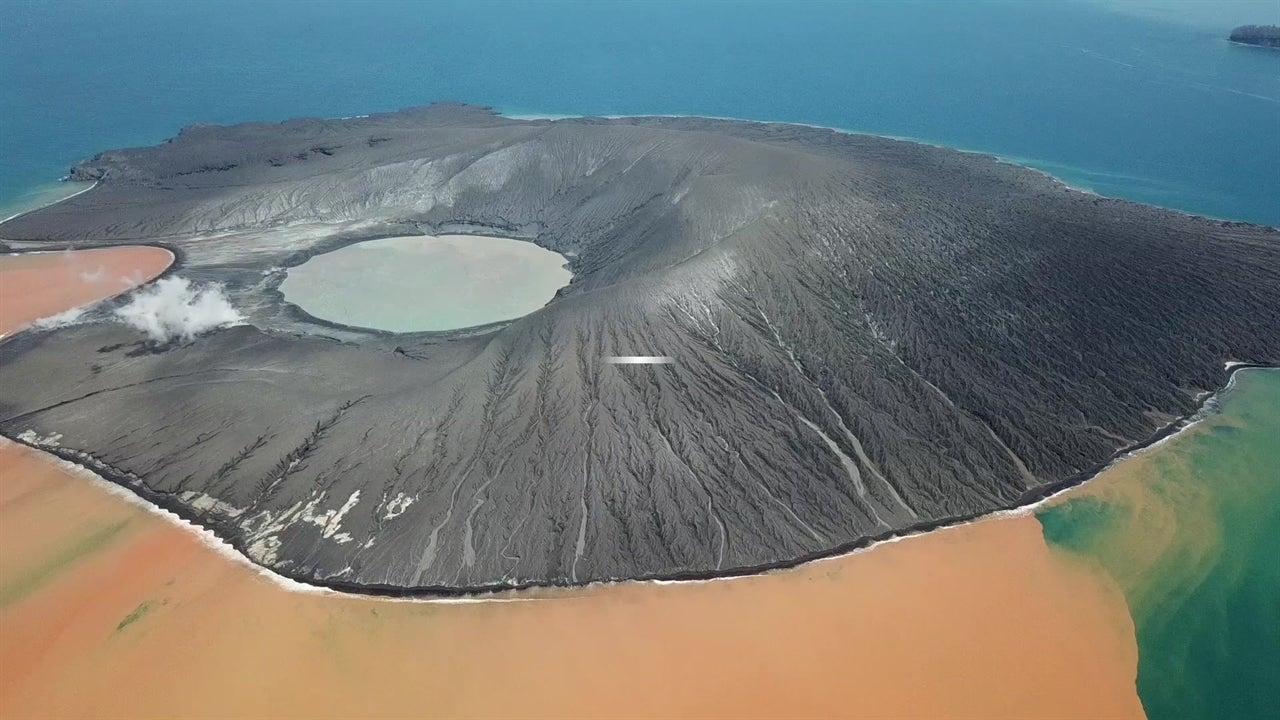 El nuevo Anak Krakatau