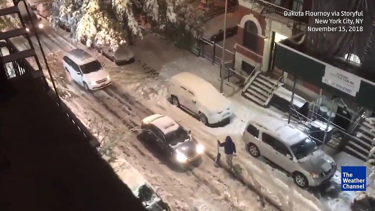 Tormenta Invernal Avery paraliza la ciudad de Nueva York