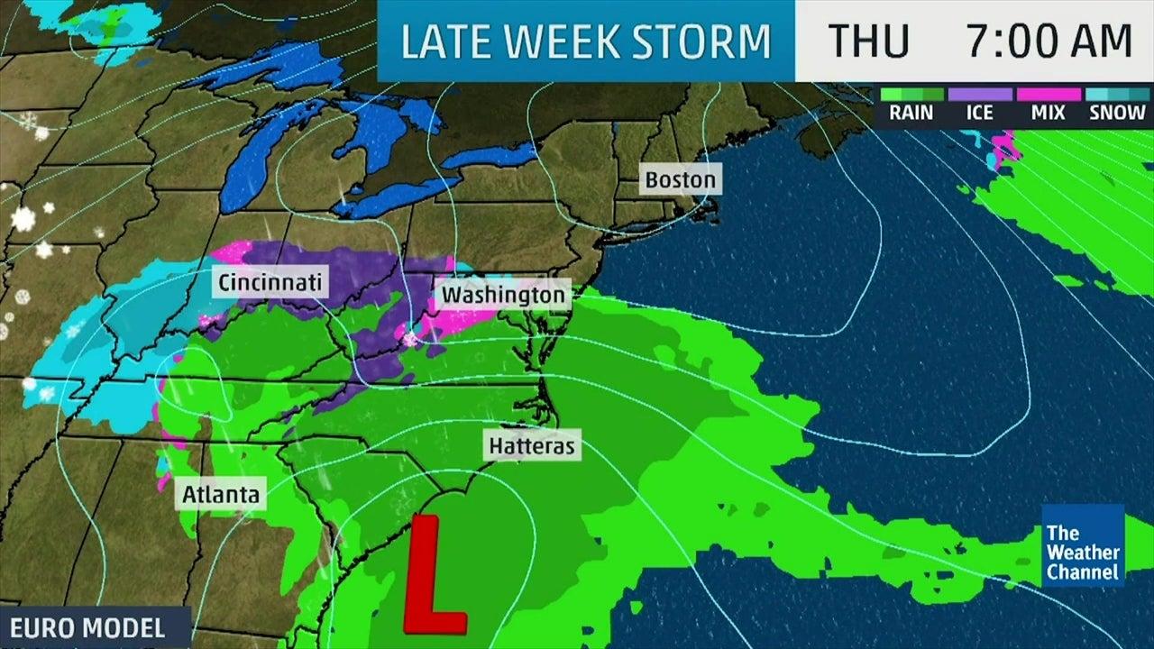 Nueva tormenta Nor´ester traerá nieve y lluvia