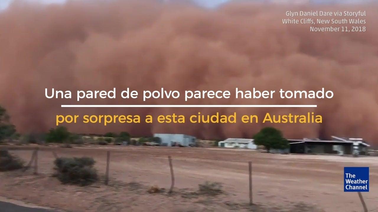 Tormenta de polvo azota New South Wales en Australia