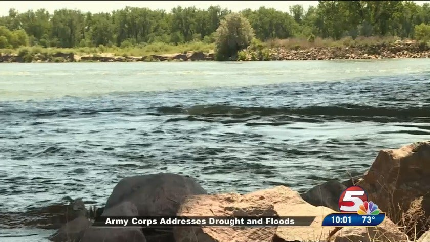 Army Corps addresses drought and floods