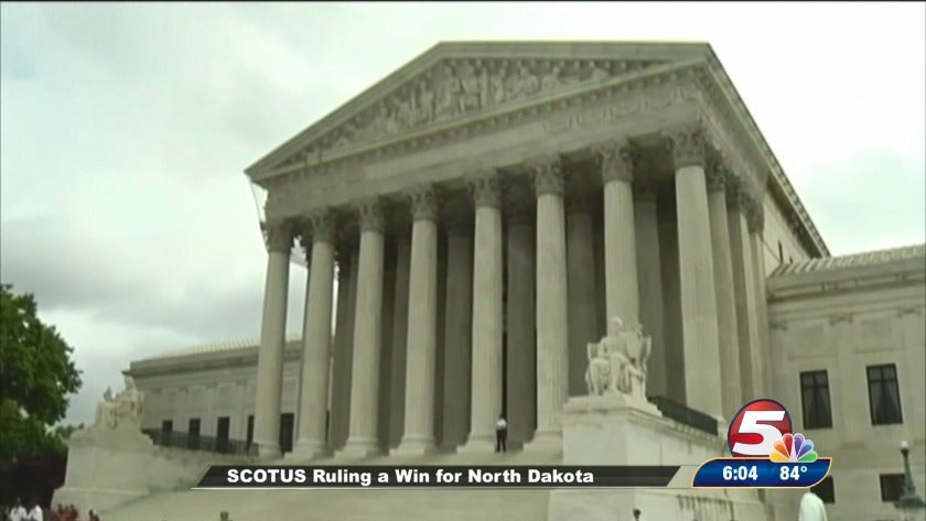 SCOTUS ruling a win for ND