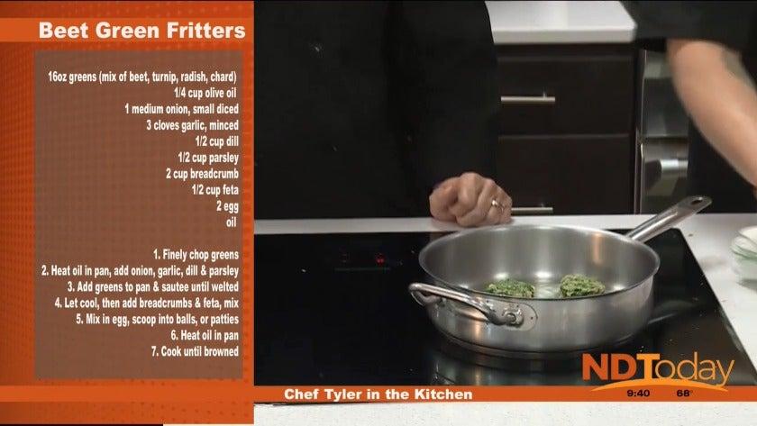 Beet Green Fritter