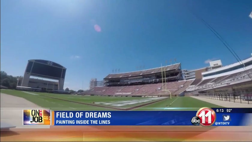 On the Job: Field of dreams