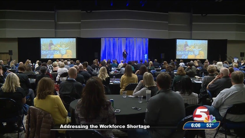 Gov. Burgum addresses workforce concerns