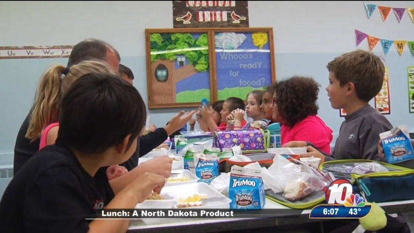 Students learn importance of ND agriculture on Pride of Dakota school lunch day