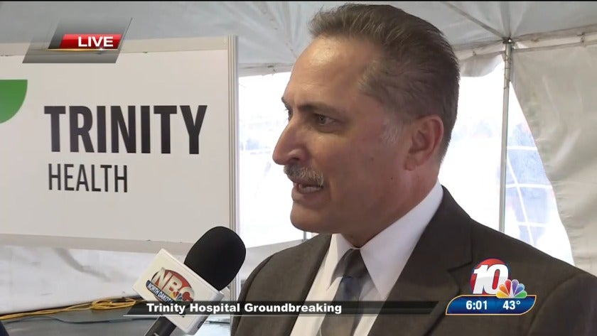 LIVE: New regional healthcare campus and medical district celebrated in Minot