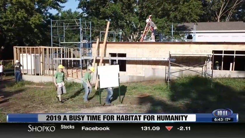 2019 a busy time for Habitat For Humanity
