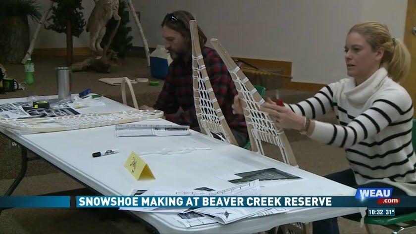 Snowshoe Making at Beaver Creek Reserve (1/6/19)