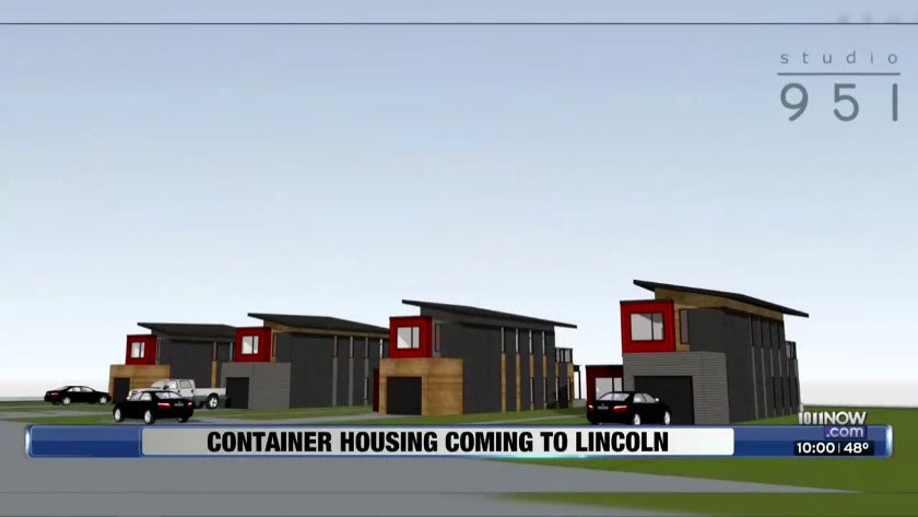 Container housing coming to Lincoln
