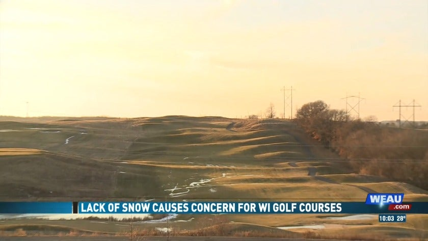 Lack of Snow Causes Concern for Wisconsin Golf Courses