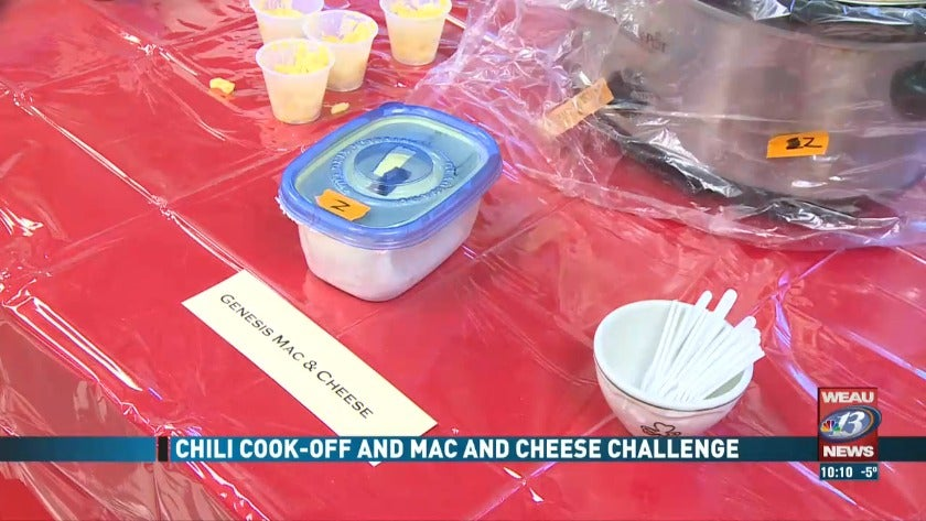 Chili Cook-off and Mac and Cheese Challenge