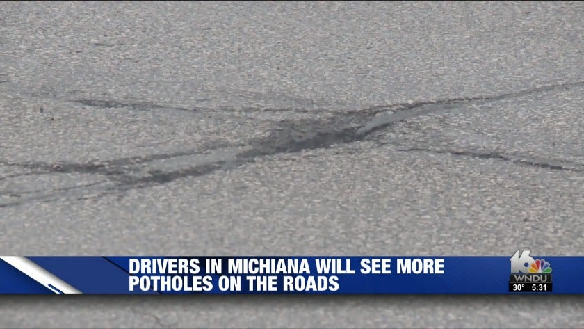 This week's fluctuating temperatures, precipitation to cause more potholes