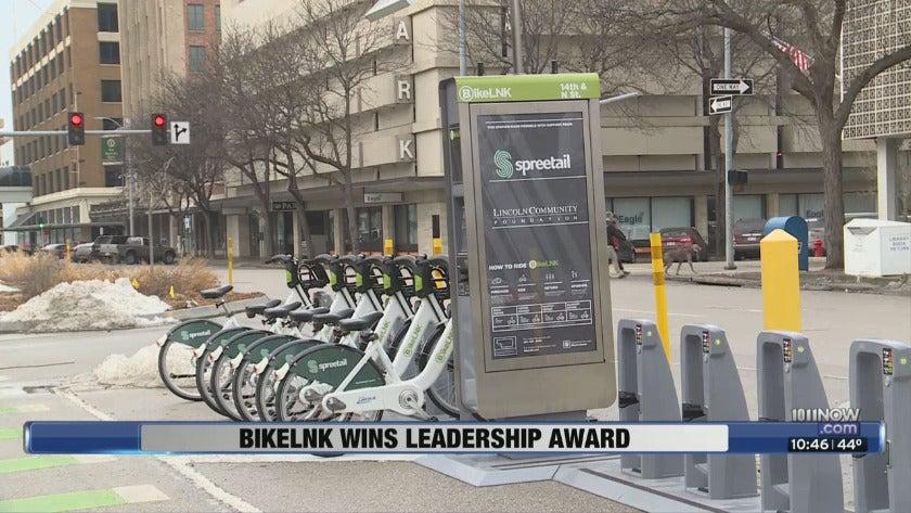 BikeLNK Wins Leadership Award