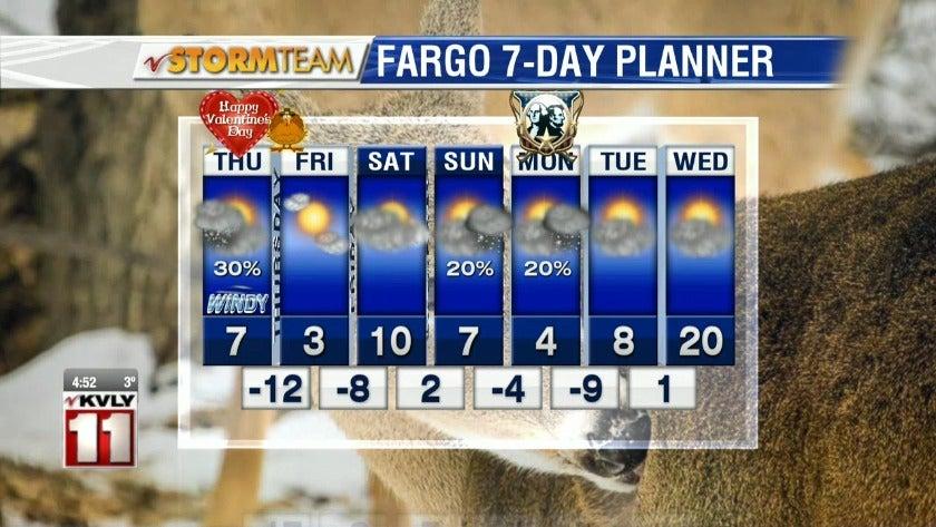 Weather: Morning Forecast - February 14