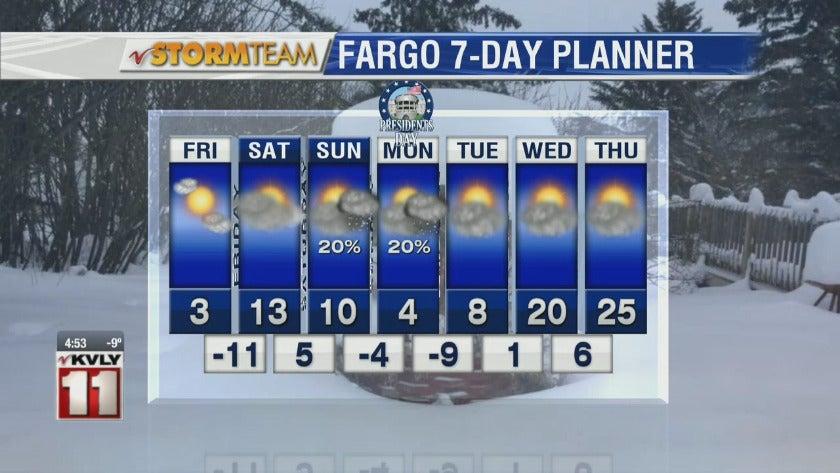 Weather: Morning Forecast  February 15