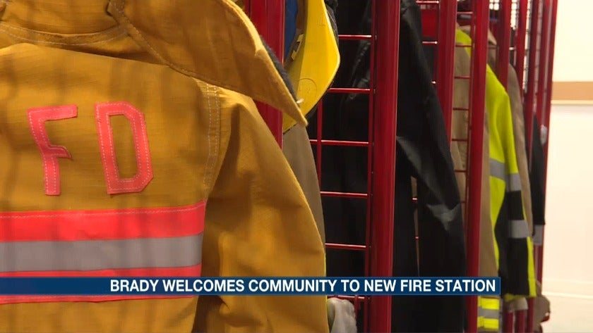 Brady welcomes visitors for new fire station open house