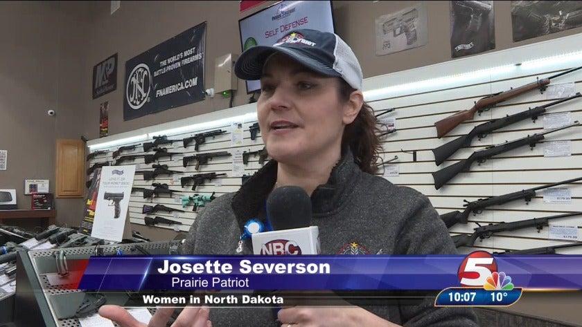 Women in North Dakota