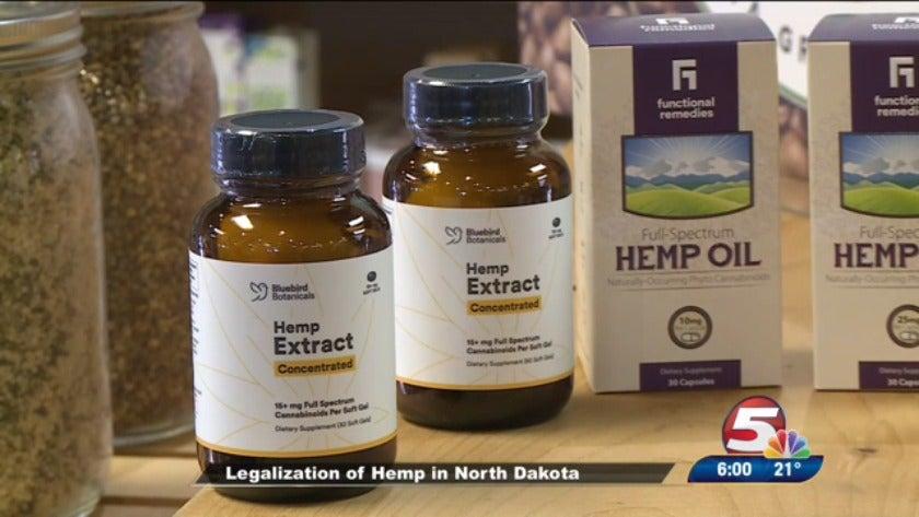 Legalization of hemp in North Dakota