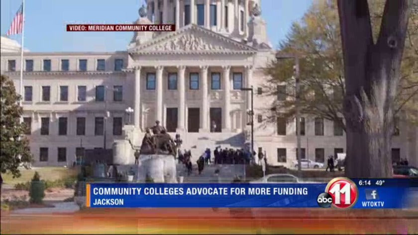Community colleges advocate for more state funding