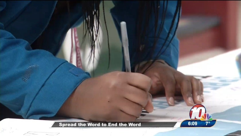 Minot State students pledge to stop using the 'R-word'